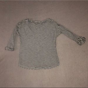 LOFT Tops - 3 for $15! Ann Taylor Loft Striped 3/4 Sleeves Tee